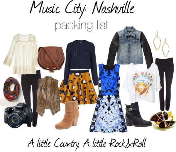 A Little Country A Little Rock n Roll: Packing for Music City Nashville