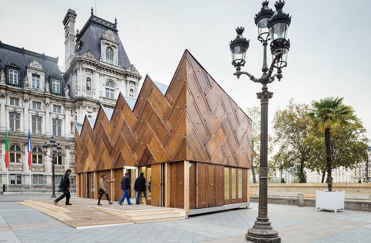 proyectos en madera en París wood projects in Paris projets en bois à Paris 5