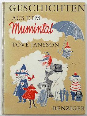 Vintage children's book - Moomins (Tove Jansson)