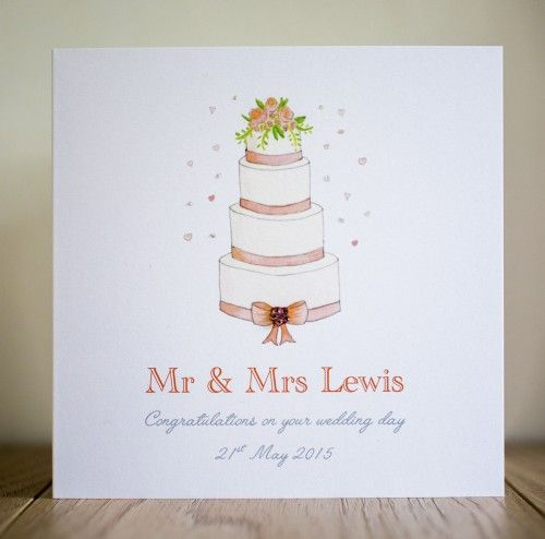 Best 7 personalised wedding cards images on pinterest card wedding handmade personalised wedding cards to congratulate the happy couple on their wedding day stopboris Image collections