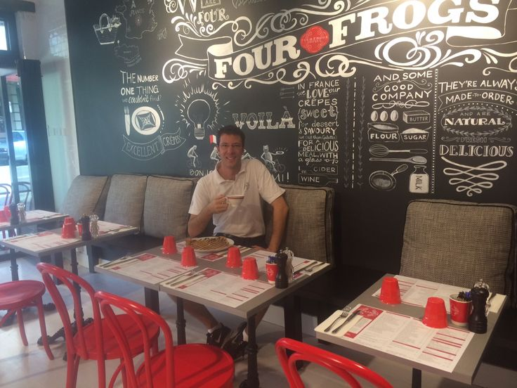 Four frogs creperie! France in sydney!