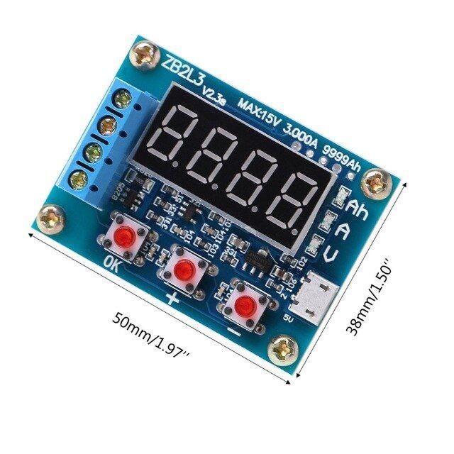18650 Li-ion Lithium Lead-acid Battery Capacity Meter Discharge Tester Analyzer