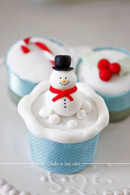 .Christmas #cupcake
