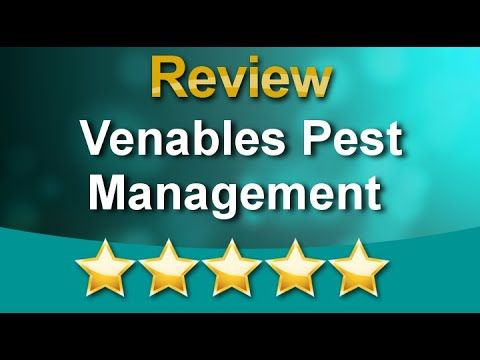 Venables Pest Management Review - 5 Star Review by Rebecca Robert