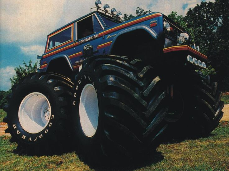 Monster Bronco