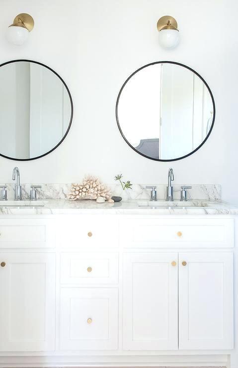 Brass Bathroom Mirrors View Full Size Brass Over Mirror Bathroom