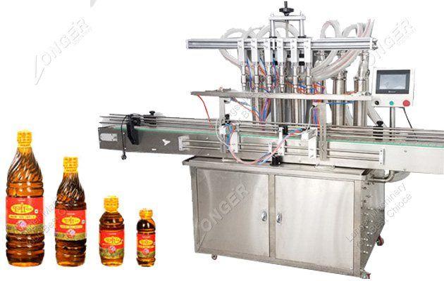 Automatic Mustard Oil Filling Machine Mustard Oil Oil Bottle Filling