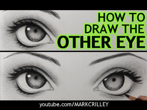 "How to Draw ""The Other Eye"" (and Make It Match the First One) - YouTube"