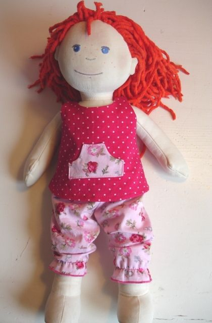 Haba doll clothes pattern in case I want to get ambitious.