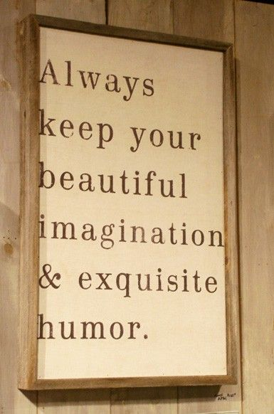 Always keep your beautiful imagination and exquisite humor. wall design +++For more
