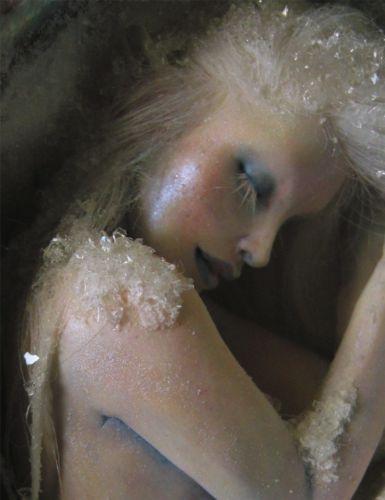 Frozen Mermaid on eBay...love the iridescent look