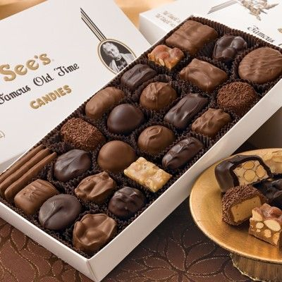 See's Candies 1lb Assorted Chocolates - Candy - Gifts