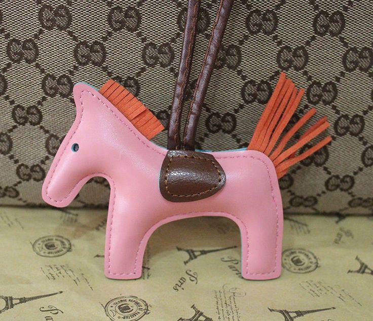 14 COLOR New Fashion Handbag Backpack Shoulder Bag Pony Horse CHARM Pendent gift #Other