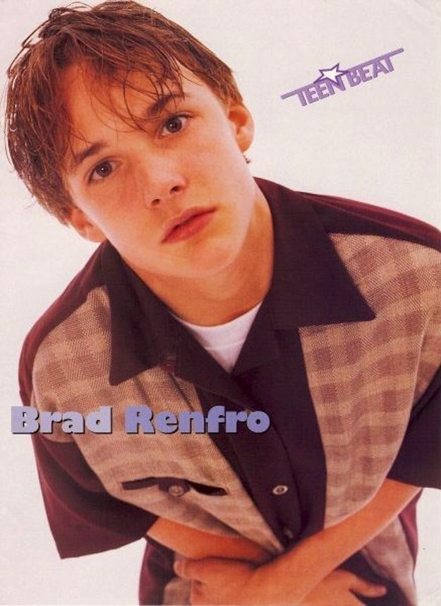 Brad Renfro was my fave!!!! 100 Forgotten Heartthrobs Of The '80s And '90s