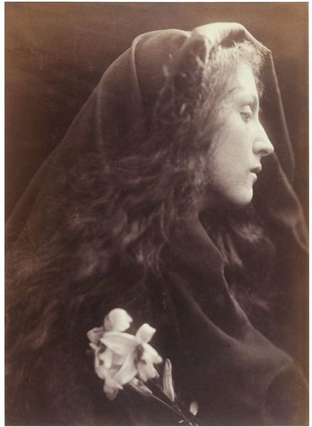 The Angel at the Sepulchre by Julia Margaret Cameron, England, 1869-70. l Victoria and Albert Museum #Christmas #AngelTrail