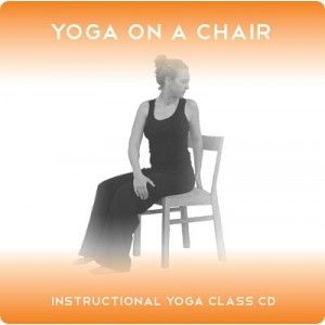 Yoga 2 Hear Yoga on a Chair Yoga Class MP3 and CD