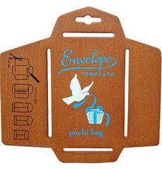 Wooden Envelope Template