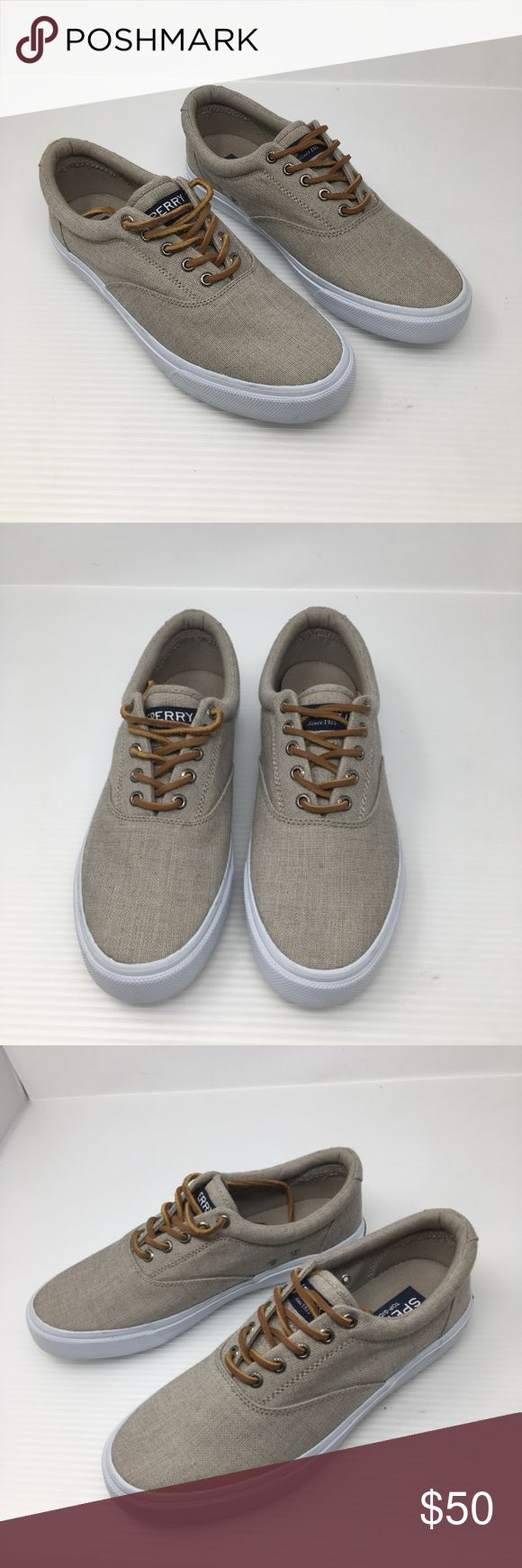 Sperry Top Sider Men's 9 Sneaker New with just a few sole scuffs from transport and storage. Size 9 Sperry Shoes Sneakers