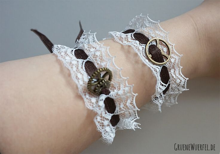 Steampunk Armband mini diy