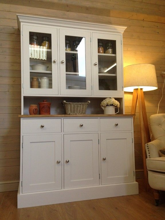 4ft Shabby Chic Welsh Dressers & Other Furniture, Kitchen Dressers for Sale, Painted Welsh Dresser, Pine Welsh Dressers for Sale, Shabby Chic Kitchen Dressers, Painted Pine Furniture UK, White Welsh D