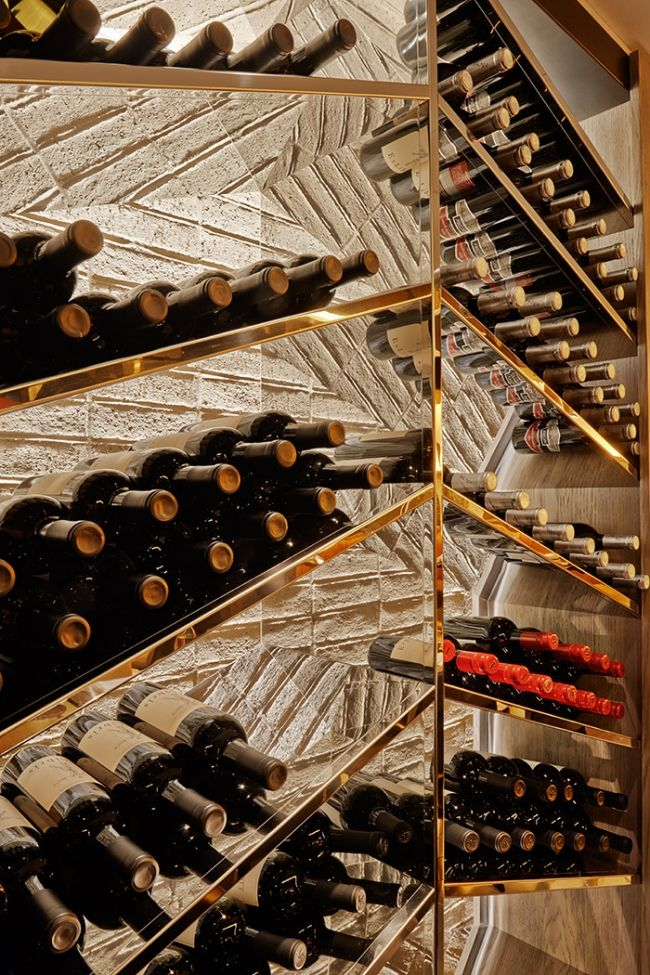 25 best ideas about wine display on pinterest wine shop interior the wine shop and wine bars - Wine rack shaped like wine bottle ...