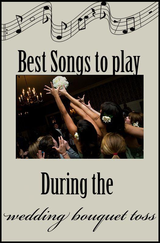 Best Songs To Play During The Wedding Bouquet Toss AtlantaWedding WeddingMusic WeddingDJ