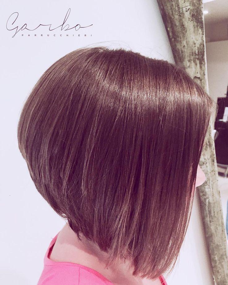 Racheleee finalmente Cortoooooooo  --- #garboparrucchieri #tagliosartoriale #corto #capelli #tagliocorto #capellicorti #nuovotaglio #nuovo #moda #tendenza #forbici #instahair #gropellocairoli #garlasco #vigevano #pavia #milano