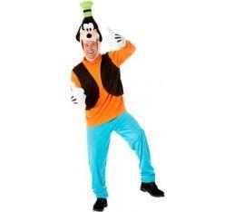 Grappig Goofy kostuum. In meerdere maten verkrijgbaar.