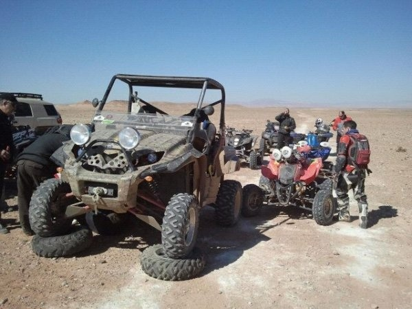 Ruta quad & buggies 2012