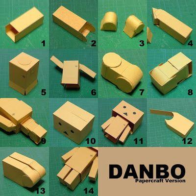 Hier Penaku Terbiut: Hoe maak je een danbo?