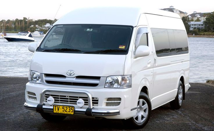 Toyota Commuter - This is the perfect vehicle for large groups who want to have fun and travel but still enjoy that luxury feeling. Call us (02) 8765 9782 or visit http://www.baysidelimousines.com.au/toyota-commuter/  #limohire