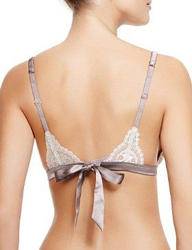 Rosie for Autograph Silk Triangle A-DD Bra with French Designed Rose Lace - Marks & Spencer
