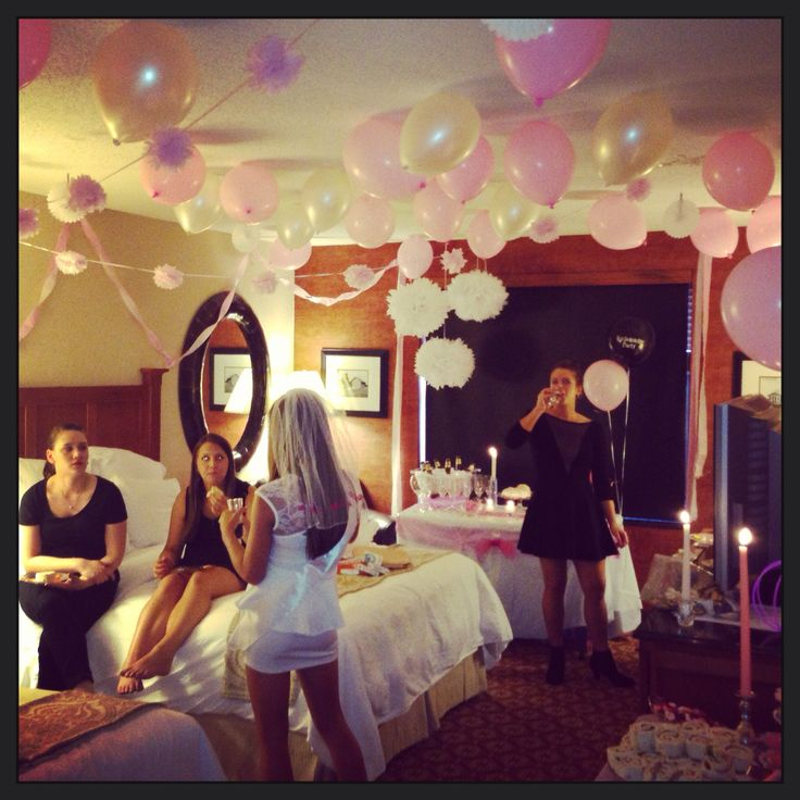 Bachelorette party (add a fuck ton of male strippers)