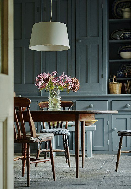 Smoky-green hues took the kitchen scene by storm this year and became an instant classic.: