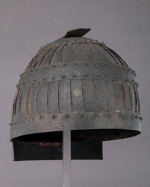 Helmet (Shokakutsuki Kabuto) in the Style of ca. 5th–6th Century | Japanese | The Met