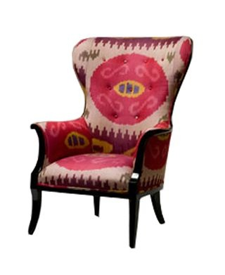 Ikat chair for the home pinterest