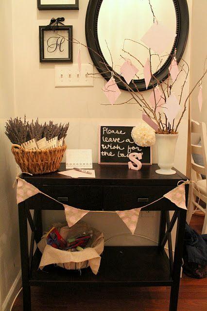 Burlap & Lace: DIY Baby Shower