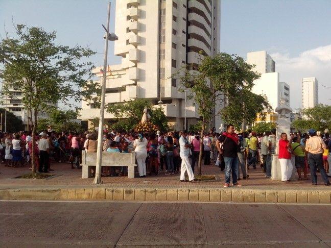 16 de Julio, celebración de la Virgen del Carmen en #CartagenadeIndias