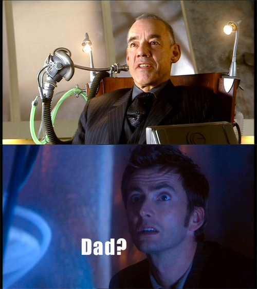 "tardisadventures:  thefuryofatimelord:  findingpadfoot:  Only Harry Potter fans will get this one.I was looking through screencaps from ""Rise of the Cybermen""And I was like ""O_____O Crouch?""    OH MY GOD."