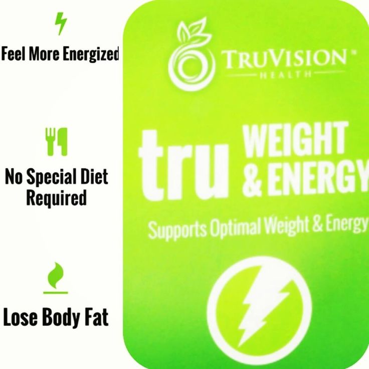 Truvision - TruWeight and Energy Try it for 7 days and you ...
