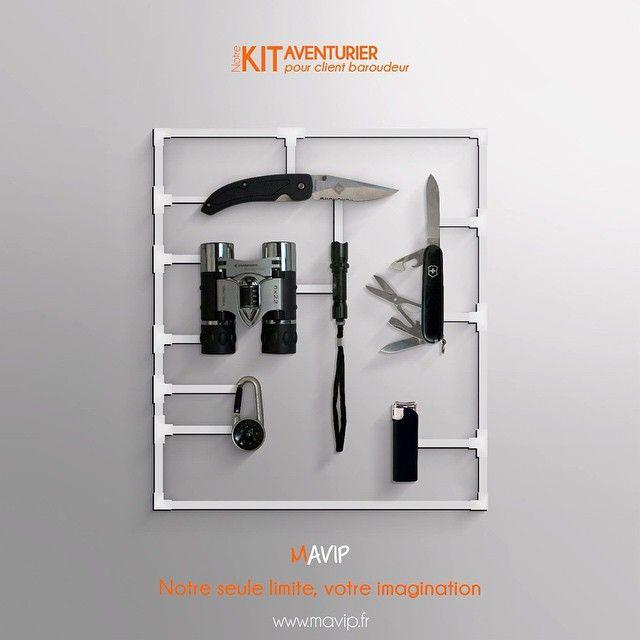 Notre kit Aventurier pour client baroudeur