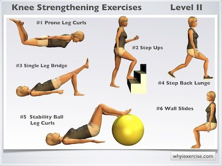 Hip Flexor Stretches: Knee Strengthening Exercises