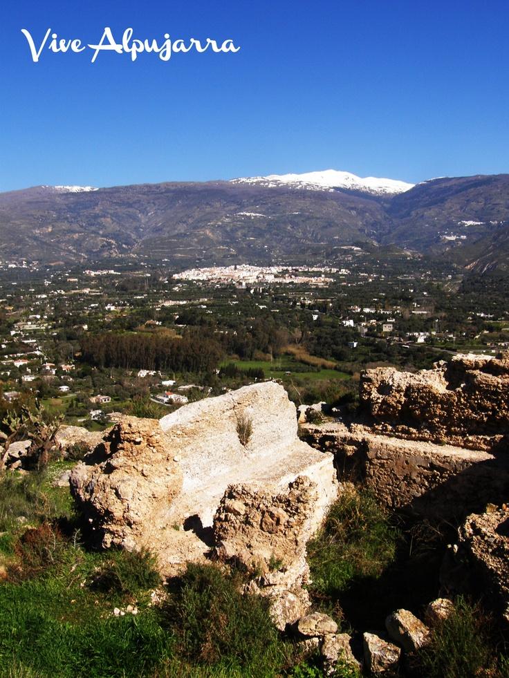 Bastión del Castillo de Órgiva. Vive Alpujarra