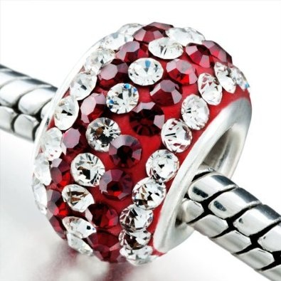 Pandora Style Birthstone Charms January.  Not my birthstone, but love this!