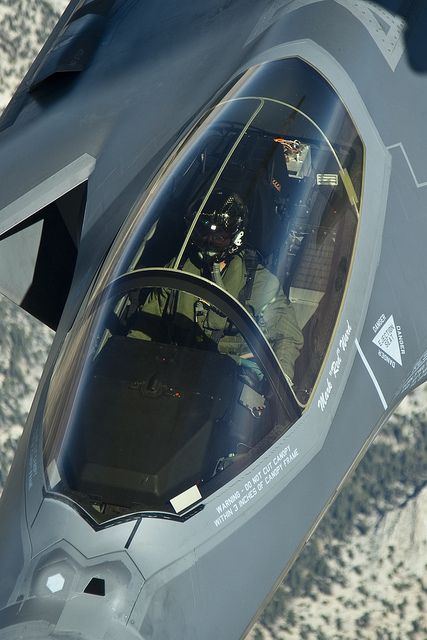 F-35A from the Tanker by Lockheed Martin