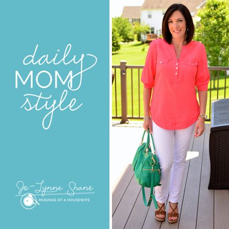 I adore this series from my friend @Jo-Lynne Shane I want her to make over my every day style! Fashion Over 40 | Daily Mom Style 06.04.14 - Musings of a Housewife