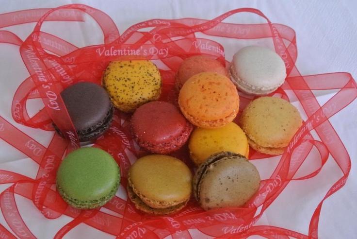 #valentines #macarons