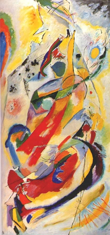 Wassily Kandinsky Painting Number 200