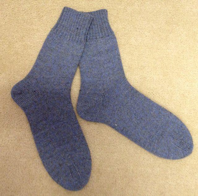 Ravelry: Stress-Free Machine Knit Men's Socks pattern by Yvonne Kadwell