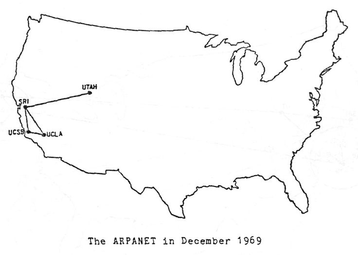 """ARPANET, the precursor to the modern internet, was an academic research project funded by the Advanced Research Projects Agency, a branch of the military known for funding ambitious research projects without immediate commercial or military applications. Initially, the network only connected the University of Utah with three research centers in California. ARPANET was a test of a then-novel technology called packet-switching, which breaks data into small """"packets"""" so they can be transmitted…"""